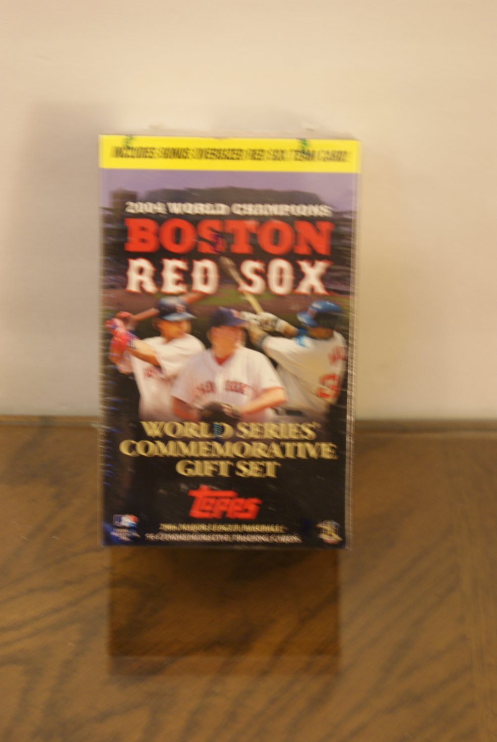 2004 World Champions Boston Red Sox cards