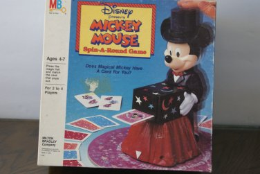 Mickey Mouse Spin-a-round game