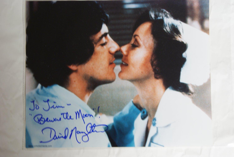 David Naughton autograph photograph