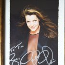 Claudia Christain autograph