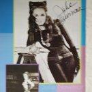 Julie Newmar autographed photo