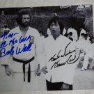 Bob Wall autographed photograph