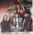 Confederate Railroad autographed photograph