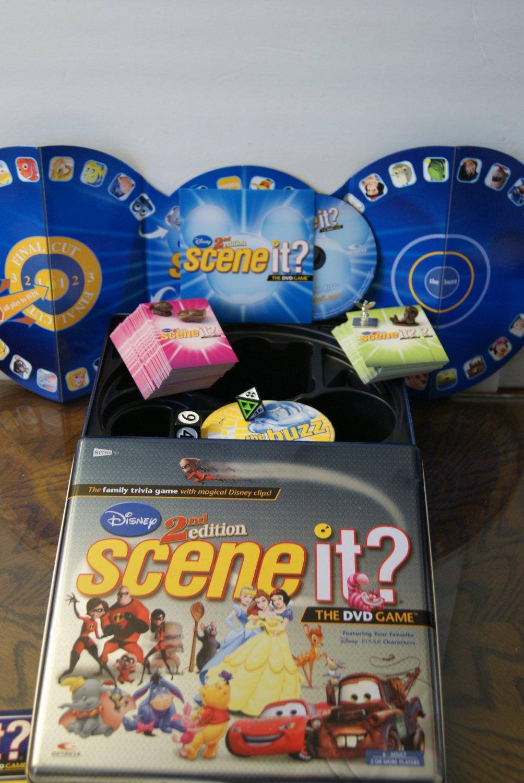 Scene it / 2nd edition Disney game