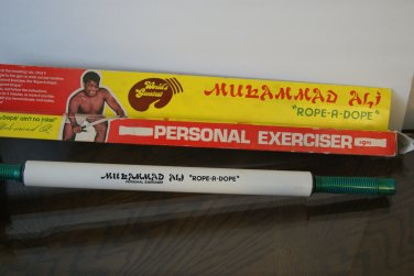 Muhammad Ali / Cassius Clay Rope a Dope personal exerciser without box