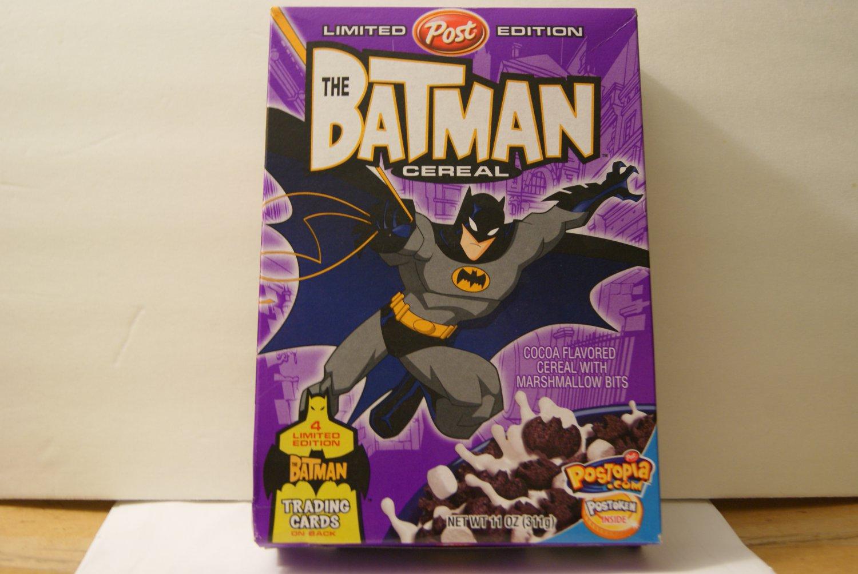 The Batman cereal