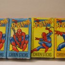 "Spiderman candy sticks ""cigarettes"""