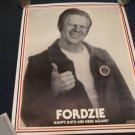 Fordzie / Gerald Ford poster