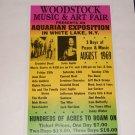 Woodstock / Sid Bernstein presents placards/posters