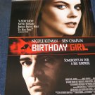 Nicole Kidman 'Birthday Girl' movie poster