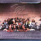 Louisville Fire Football Cheerleaders poster