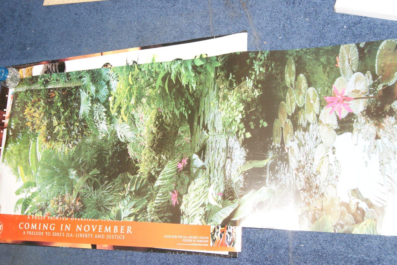 Tropical door poster