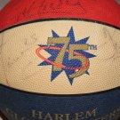 Harlem Globetrotters autographed basketball