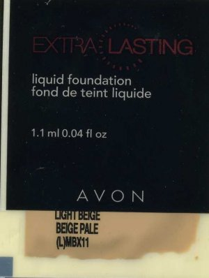 Extra Lasting Foundation Sample is SPF 12-Nude!