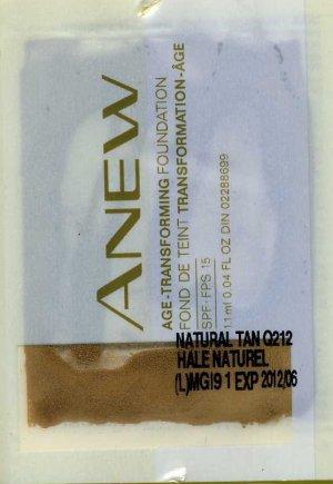 Anew Age-Transforming Foundation Sample SPF 15-Nutmeg!