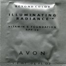 Avon Illuminating Radiance Foundation Sample SPF 12-Golden Caramel!