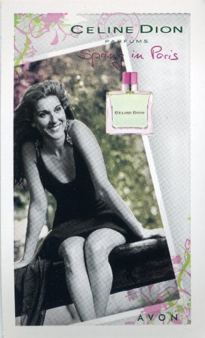 Avon Fragrance Sample- Spring In Paris by Celine Dion!