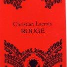 Avon Fragrance Sample- Christian Lacroix~Rouge!