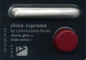 Avon Shine Supreme Lipstick Sample-Cherry Glow!