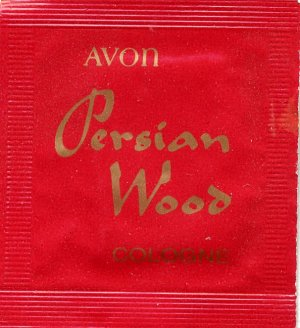 Avon Fragrance Sample- Persian Wood!