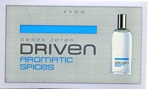 Avon Mens Cologne Sample - Driven Aromatic Spices by Derek Jeter!