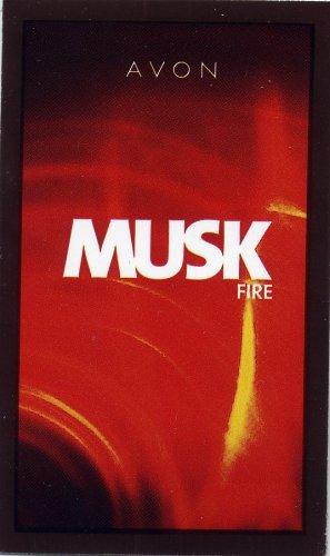 Avon Mens Cologne Sample - Musk Fire!