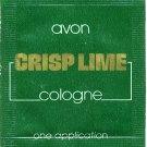 Avon Mens Cologne Sample - Crisp Lime!