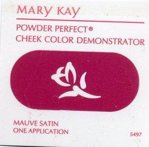 Mary Kay Powder Perfect Cheek Color Sample-Mauve Satin!