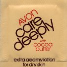 Avon Sample Care Deeply with Cocoa Butter Extra Creamy Lotion