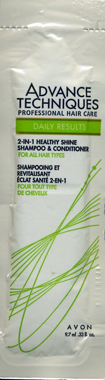 Avon Sample-Advanced Techniques Healthy Shine Shampoo & Conditioner