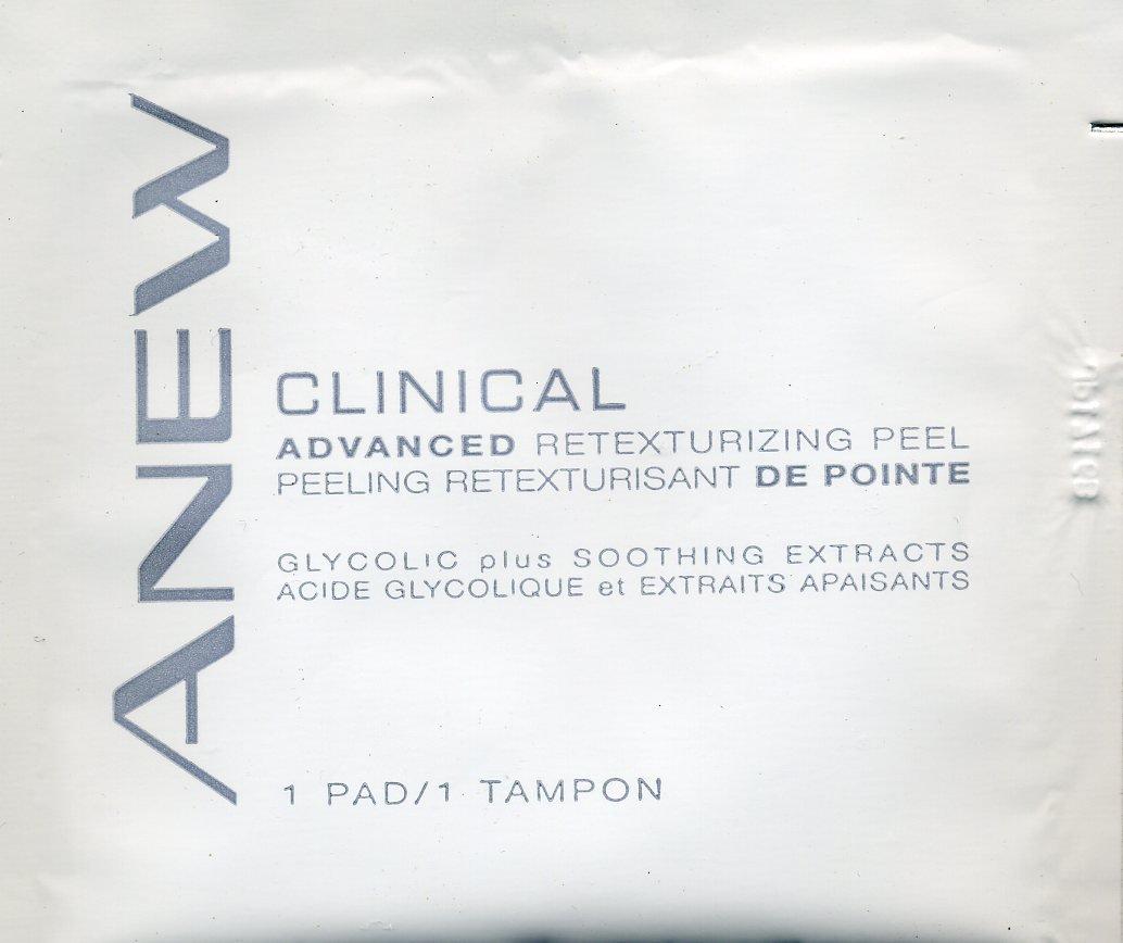 Avon Sample - Anew Advanced Retexturizing Peel!