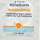 Avon Solutions Hydra-Radiance Moisturizing Night Cream Sample!