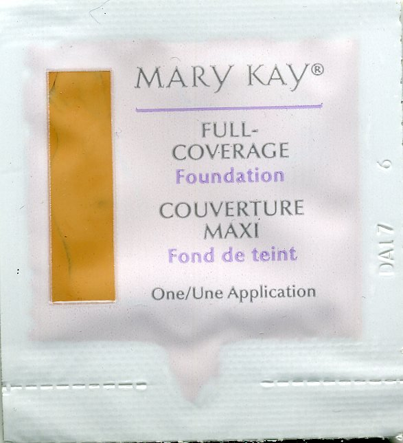 Mary Kay Full-Coverage Foundation Sample-Beige 304!
