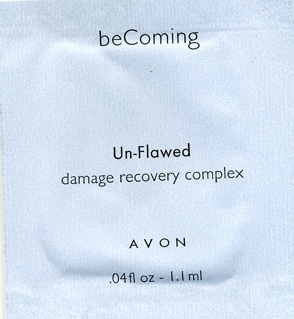 Avon Becoming Un-Flawed Damage Recovery Complex Sample!