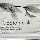 Avon Liiv Botanicals Vital Night Moisturizer Sample!