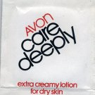 Avon Sample-Care Deeply Extra Creamy Lotion For Dry Skin!