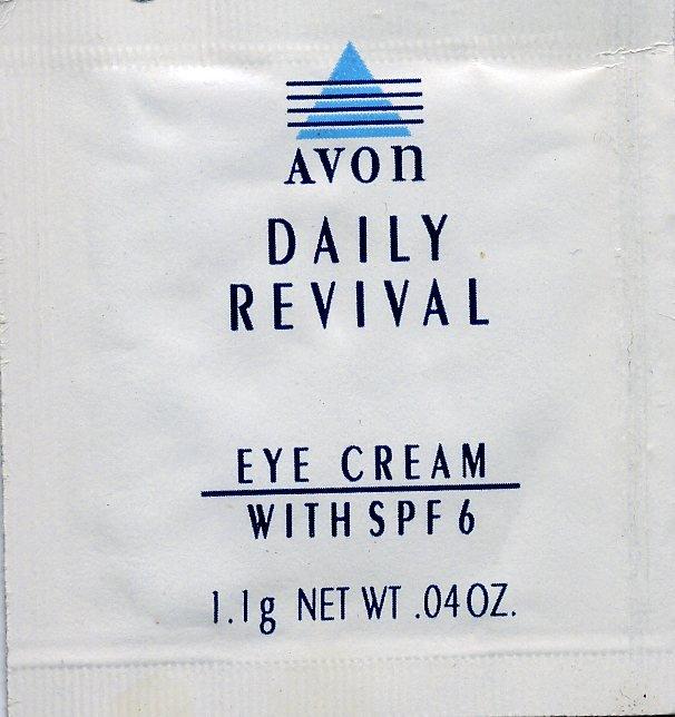 Avon Sample-Daily Revival Eye Cream SPF 6