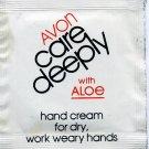 Avon Sample-Care Deeply With Aloe Hand Cream!
