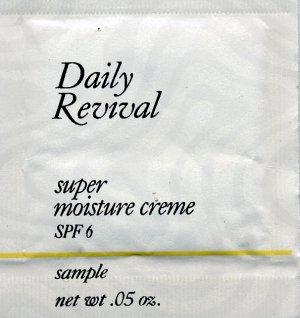 Avon Sample-Daily Revival Super Moisture Creme SPF 6!