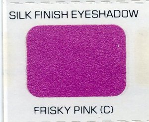 Avon Frisky Pink Silk Finish Eyeshadow Sample