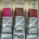 Avon Iced Plum Becoming Liphoria Lipstick Sample