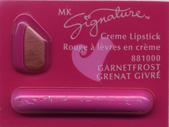 Mary Kay Garnet Frost Signature Creme Lipstick Sample