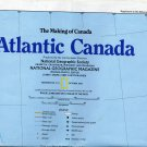 National Geographic Map October 1993-Atlantic Canada