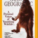 National Geographic April 1990-A Personal Vision Of Vanishing Wildlife