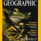 NATIONAL GEOGRAPHIC OCTOBER 2000 BORNEO FROGS Africa OCEAN VENTS Fossil Trails