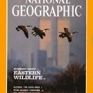 National Geographic February 1992-Eastern Wildlife Bittersweet Success