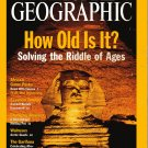 National Geographic September 2001 How Old Is It?Solving The Riddle Of Ages