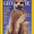 National Geographic September 2002-Meerkats-Stand Tall