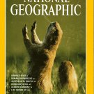 National Geographic April 1998-The Vanishing Prairie Dog