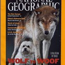National Geographic January 2002-Wolf to Woof